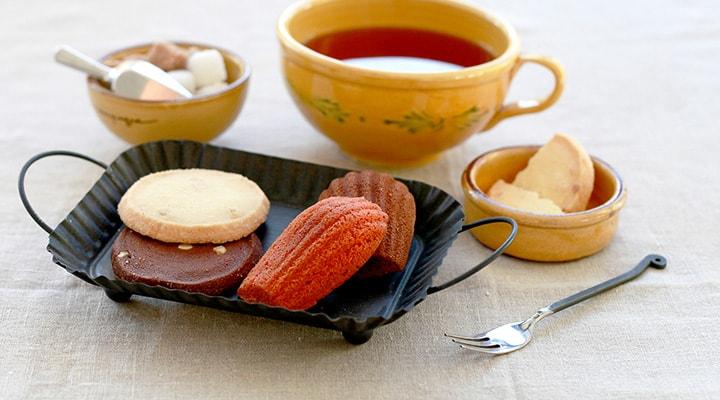 焼き菓子&紅茶